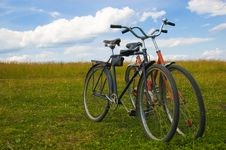 Free Old Bicycles Royalty Free Stock Photo - 5701825