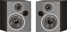 Free Loudspeakers Royalty Free Stock Photo - 5701855