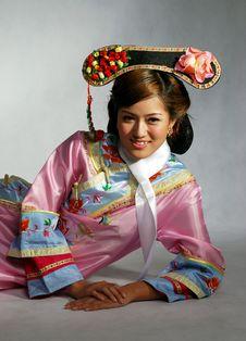 Pretty Asian Girl Royalty Free Stock Photo
