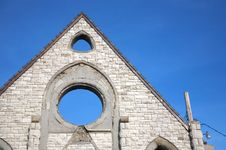 Free Church With Holes Stock Photo - 5702350