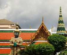 Free Bangkok Royal Palace Royalty Free Stock Photo - 5702905