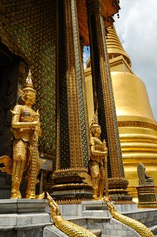 Free Bangkok Royal Palace Stock Image - 5702951