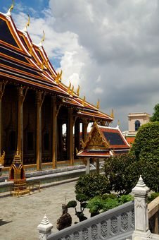 Free Bangkok Royal Palace Royalty Free Stock Photo - 5702975