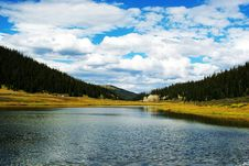 Free Lake And Cloud Royalty Free Stock Images - 5703189