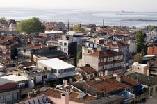 Free Panoramic View Of Istanbul Roofs Stock Photos - 5703943