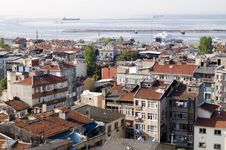 Free Panoramic View Of Istanbul Royalty Free Stock Photography - 5703957