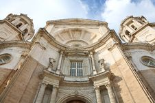 Free Cathedral In Cadiz (Spain) Stock Photos - 5704323