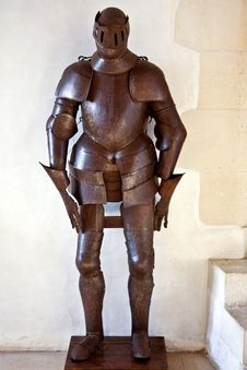 Free Iron Armour Of The Knight Royalty Free Stock Photo - 5704405
