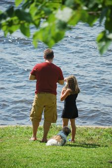 Free Father And Daughter Stock Images - 5704424