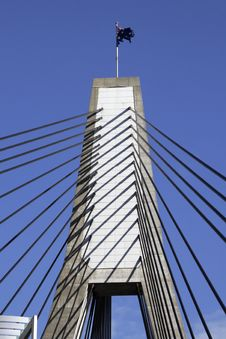 Free Anzac Bridge, Sydney, Australia Royalty Free Stock Image - 5704476
