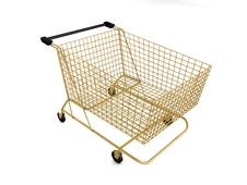 Free Shopping Cart Royalty Free Stock Photos - 5704658