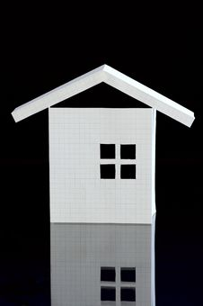 Paper House Royalty Free Stock Photography
