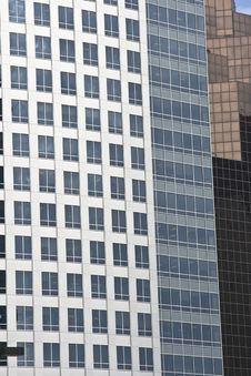 Free Three Corporate Skyscrapers Downtown Royalty Free Stock Image - 5705406