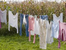 Free Laundry Royalty Free Stock Photography - 5706347