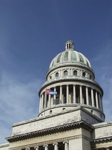 Free Havana S Capitol Dome Stock Photography - 5707512