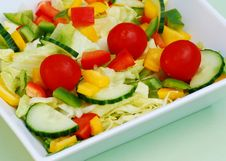 Free Summer Salad Royalty Free Stock Images - 5707519