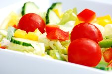 Free Summer Salad Royalty Free Stock Images - 5707579