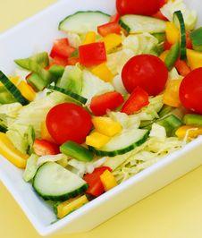 Free Summer Salad Royalty Free Stock Image - 5707626