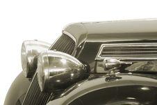 Free Headlight. Stock Images - 5707864