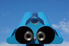 Free View Binoculars Royalty Free Stock Images - 5707889