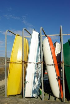 Free Stored Boats Royalty Free Stock Photo - 5707895