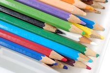 Free Color Pencils Royalty Free Stock Image - 5708006