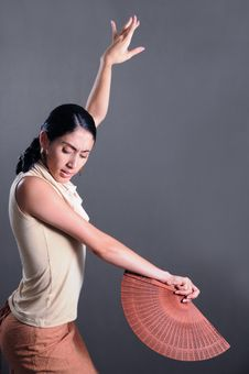 Free Flamenco Dancer Stock Photo - 5708460