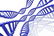 Render Of DNA Stock Image