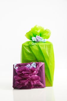 Free Gift Boxes Royalty Free Stock Photography - 5709027