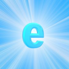 Free Internet Symbol Royalty Free Stock Image - 5709036
