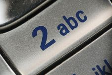 Free Cell Phone Macro Royalty Free Stock Image - 5709086