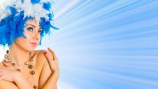 Free Glamour Woman Portrait Stock Photos - 5709253