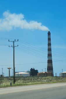 Free Cuban Power Plant Stock Photography - 5709292