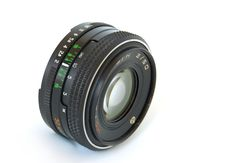 Old Lens Royalty Free Stock Images