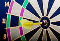 Free Magnetic Dart Board With Darts Royalty Free Stock Photography - 5717367