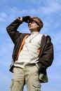 Free Man Tourist Stock Photo - 5718660