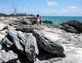 Free On A Hostile Beach Stock Photos - 5719023