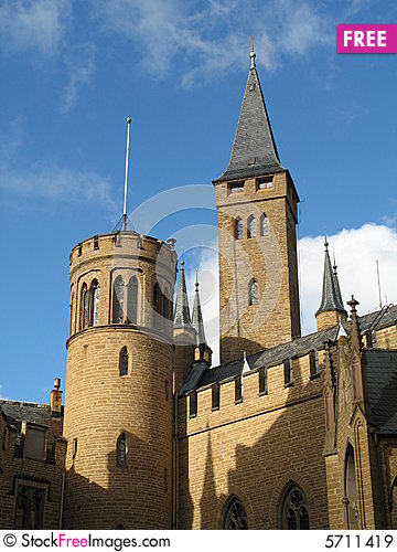 Free Ancient Castles In The Sky - Germany Royalty Free Stock Images - 5711419