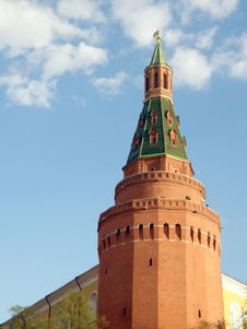 Free Ancient Tower Of The Kremlin. Moscow. Stock Image - 5710281