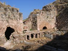 Free Ancient Brick Walls Of Ephesus Stock Photography - 5710942