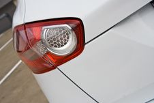 Taillight Closeup Stock Photography