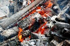 Free Burning Wood Stock Photo - 5711500