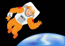 Free Astroaut Stock Photography - 5711662