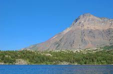 Upper Waterton Lake Royalty Free Stock Photos