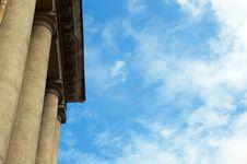 Free Column Construction Royalty Free Stock Photos - 5713188