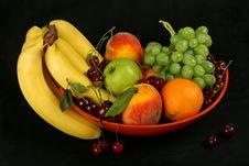 Free Vase Of Fruits Royalty Free Stock Photos - 5713338