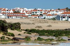 White Houses On Coastline