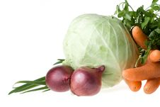 Free Still-life With Vegetables Royalty Free Stock Photography - 5713477