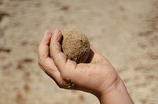 Free Sand Ball Royalty Free Stock Photos - 5713508