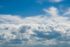 Free Clouds In The Blue Sky Stock Image - 5713531